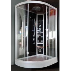 Асимметричная душевая кабина Eurosun (Евросан) S023-120L Lux 120*85 см для ванной комнаты