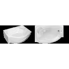 Асимметричная акриловая ванна Eurolux (Евролюкс) Александрия (Alexandria) 170*110 см для ванной комнаты