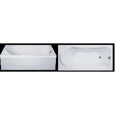 Прямоугольная акриловая ванна Eurolux (Евролюкс) Карфаген (Karfagen) 170*75 см для ванной комнаты