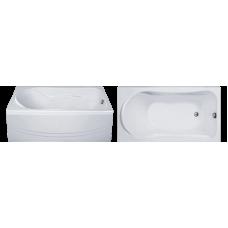 Прямоугольная акриловая ванна Eurolux (Евролюкс) Помпеи (Pompei) 150*70 см для ванной комнаты