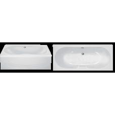 Прямоугольная акриловая ванна Eurolux (Евролюкс) Сибарис (Sibaris) 170*70 см для ванной комнаты
