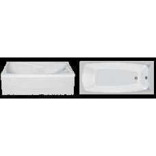 Прямоугольная акриловая ванна Eurolux (Евролюкс) Сиракузы (Sirakuzy) 150*70 см для ванной комнаты