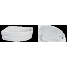 Асимметричная акриловая ванна Eurolux (Евролюкс) Спарта (Sparta) 160*100 см для ванной комнаты