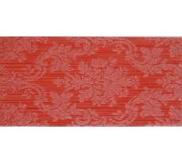 Декор Fanal Line Decorado Damasco Rojo 25*50