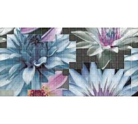 Декор Fanal Mosaico Decor Blanco Flor-1 25*50