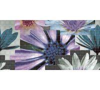 Декор Fanal Mosaico Decor Blanco Flor-2 25*50