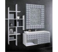Мебель Gamadecor In Relieve 90 см для ванной комнаты