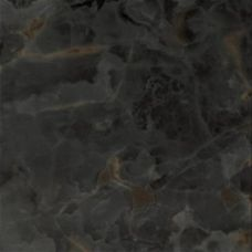 Итальянская напольная керамическая плитка Gardenia Orchidea (Гардения Орхидея) Onice Nero Lapado 17634 49*49 см для ванной комнаты, кухни, прихожей, квартиры и дома