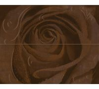 Декор Halcon Look Decor Rosa-2 Chocolate 40*50