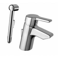 Смеситель для раковины - умывальника Ideal Standard (Идеал Стандард) Active (Актив) B8058AA с гигиеническим душем для ванной комнаты