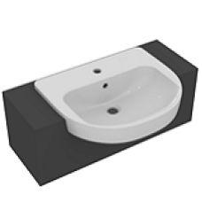 Полувстраиваемая раковина-умывальник Ideal Standard (Идеал Стандарт) Playa (Плая) J491701 55 см для ванной комнаты или туалета