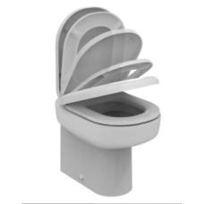 Напольный пристенный унитаз Ideal Standard (Идеал Стандарт) Playa (Плая) J492501 для ванной комнаты или туалета