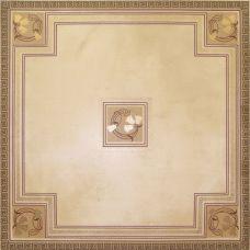 Декор Keros Invictus Fosil Beige 50*50 см для ванной комнаты, кухни, прихожей, квартиры и дома
