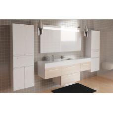 Комплект Kolpa-San Modul Concept 3 210 см состоящий из зеркала, тумб, раковины и пеналов