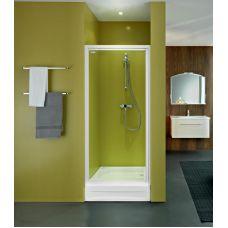 Прямоугольная душевая дверь Kolpa-San (Колпа-Сан) Orion (Орион) TV/O 80 для душевого поддона в ванной комнате