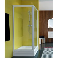 Прямоугольная душевая стенка Kolpa-San (Колпа-Сан) Orion (Орион) TSv/O 90 для душевого поддона в ванной комнате