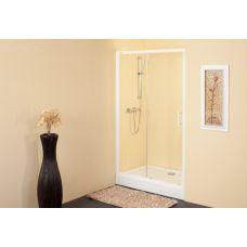 Прямоугольная душевая дверь Kolpa-San (Колпа-Сан) Q-line (Ку-лайн) TV/2D 120 для душевого поддона в ванной комнате