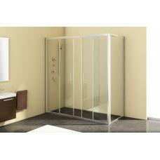 Прямоугольная душевая стенка Kolpa-San (Колпа-Сан) Q-line (Ку-лайн) TS 90 для душевого поддона в ванной комнате