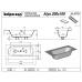 Прямоугольная акриловая ванна Kolpa-San (Колпа-Сан) Atys 200*100
