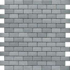 Испанская мозаика L'Antic Colonial (Лантик Колониаль) Mosaico Brick Acero G-533 29.5*28 см для ванной комнаты
