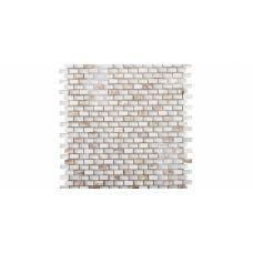 Испанская мозаика L'Antic Colonial (Лантик Колониаль) Mosaico Tribal Pearl White G-523 28.6*28.3 см для ванной комнаты