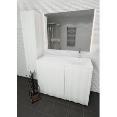 Мебель Lotos (Лотос) Алисия 120 см для ванной комнаты, напольная, под стиральную машину