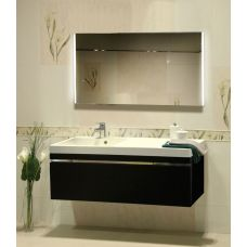 Мебель Lotos (Лотос) 130 см для ванной комнаты, подвесная
