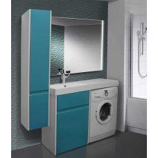 Мебель Lotos (Лотос) 130 см для ванной комнаты, напольная под стиральную машину