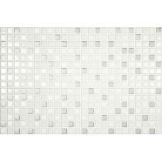 Мозаика Magna Mosaiker Stability Silver 20*30 см для ванной комнаты, кухни, прихожей, квартиры и дома
