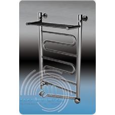 Электрический полотенцесушитель Margroid (Маргроид) Вид 1 П Э 600*400 с полкой для ванной комнаты