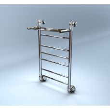 Водяной полотенцесушитель Margroid (Маргроид) Вид 10 П 600*500 с полкой для ванной комнаты