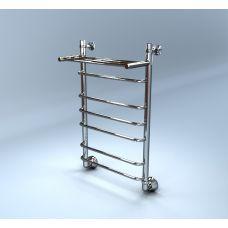 Водяной полотенцесушитель Margroid (Маргроид) Вид 9П 500*500 с полкой для ванной комнаты