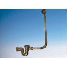 Слив-перелив McAlpine (МакАлпайн) BRASSTRAP-50-AB для ванны в ванной комнате
