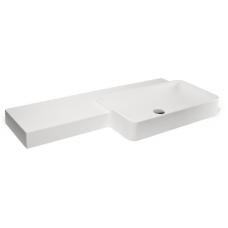 Раковина MonteBianco (МонтеБианко) Monza Uno (Монца Уно) 11251 112 см для ванной комнаты
