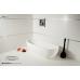 Овальная ванна MonteBianco (МонтеБианко) Izeo (Изео) 170*70 см из акрилового камня для ванной комнаты