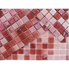 Испанская мозаика Mosavit (Мосавит) Acquaris-24 Carmin 31.6*31.6 см для ванной комнаты