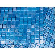 Испанская мозаика Mosavit (Мосавит) Acquaris-2 Celeste 31.6*31.6 см для ванной комнаты