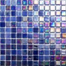 Испанская мозаика Mosavit (Мосавит) Acquaris-1 Cobalto 31.6*31.6 см для ванной комнаты