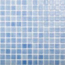 Испанская мозаика Mosavit (Мосавит) 2001 Bruma-Azul Piscina Antideslizante 31.6*31.6 см для ванной комнаты