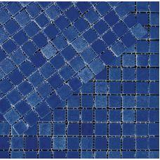 Испанская мозаика Mosavit (Мосавит) 2002 Bruma-Azul Cobalto 31.6*31.6 см для ванной комнаты
