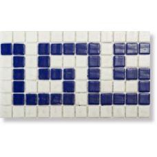 Испанская мозаика Mosavit (Мосавит) Cenefa Greca 18.4*31.6 см для ванной комнаты
