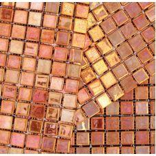 Испанская мозаика Mosavit (Мосавит) Metalica Bronce 31.6*31.6 см для ванной комнаты