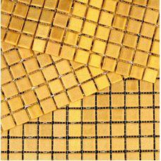 Испанская мозаика Mosavit (Мосавит) Metalica Oro 31.6*31.6 см для ванной комнаты