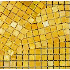 Испанская мозаика Mosavit (Мосавит) Metalica Oro-Dore 31.6*31.6 см для ванной комнаты