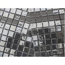 Испанская мозаика Mosavit (Мосавит) Metalica Platino 31.6*31.6 см для ванной комнаты