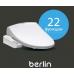 Многофункциональная электронная крышка-биде Novita (Новита) Nanobidet (Нанобидэт) Berlin (Берлин) для унитаза в ванной комнате и туалете