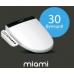 Многофункциональная электронная крышка-биде Novita (Новита) Nanobidet (Нанобидэт) Miami (Майами) для унитаза в ванной комнате и туалете