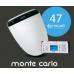 Многофункциональная электронная крышка-биде Novita (Новита) Nanobidet (Нанобидэт) Monte Carlo (Монте Карло) с унитазом Laguraty 812A
