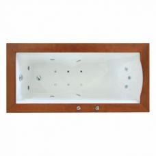 Прямоугольная акриловая ванна Novitek (Новитек) Incredible (Инкредибл) 186*91 см для ванной комнаты