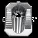 Чаша генуя Oceanus (Океанус) 4-002.1 из нержавеющей стали для ванной комнаты и туалета